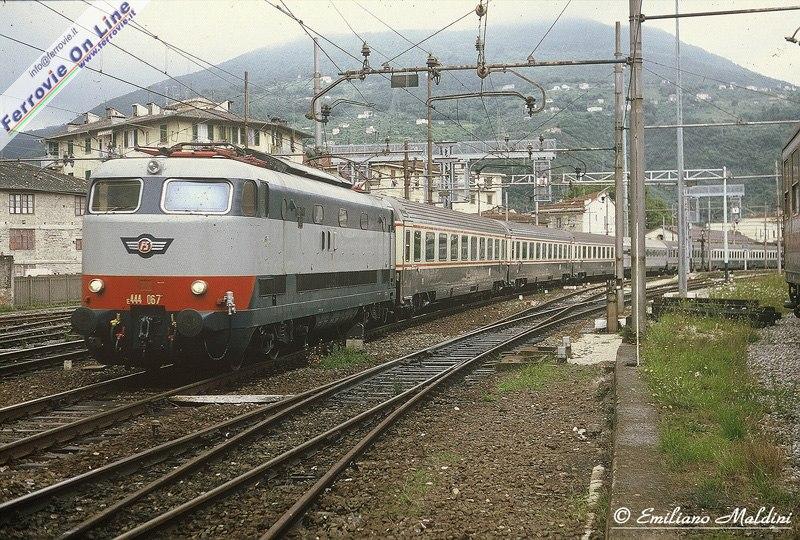 Foto treni anni 80 81
