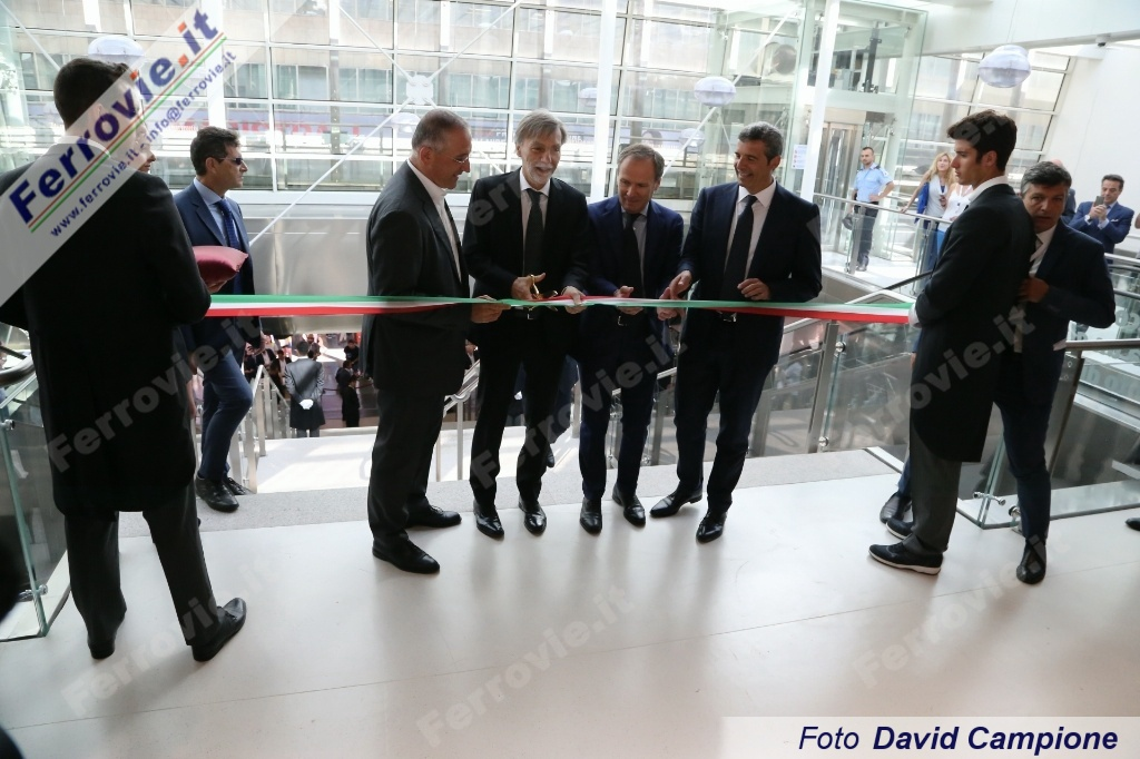 Fs: inaugurata Terrazza Termini, investimento da 30 mln