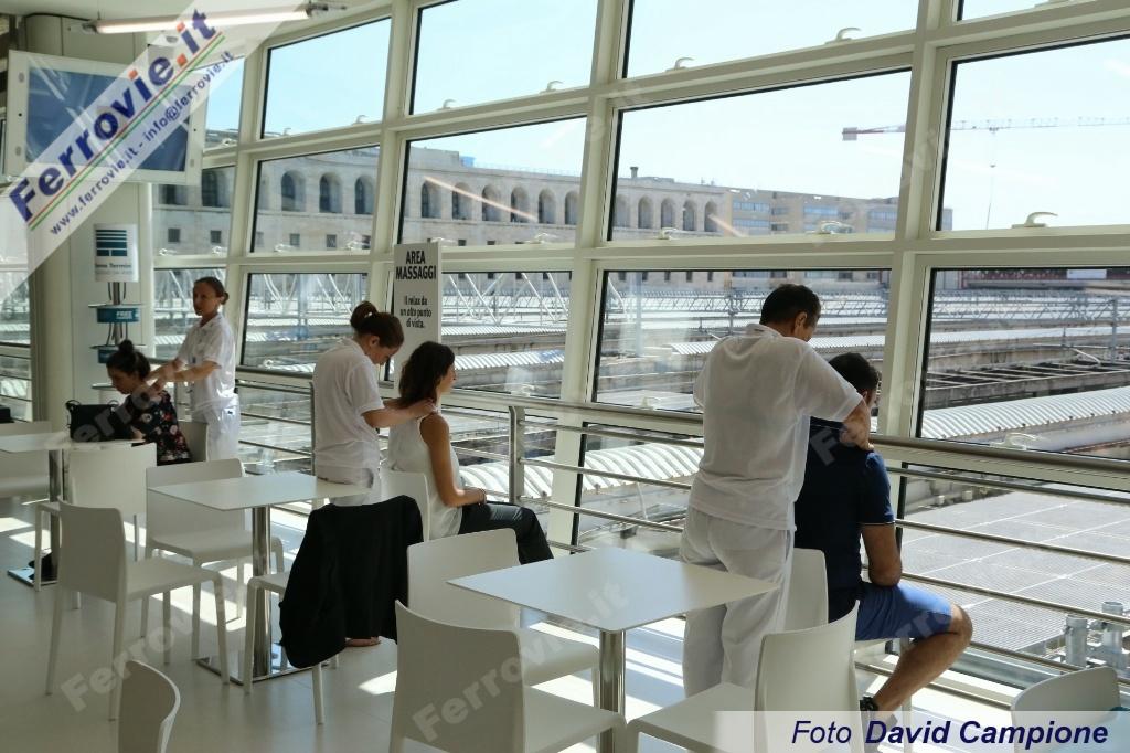 Ferrovie It Apre Terrazza Termini La Nuova Lounge Di Stazione