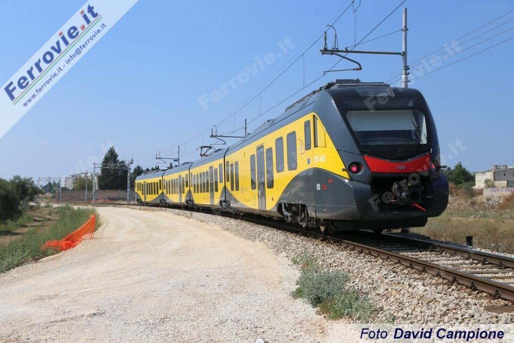 Treni: da lunedi' tratte Ferrovie Sud-Est viaggiano a 50 km/h