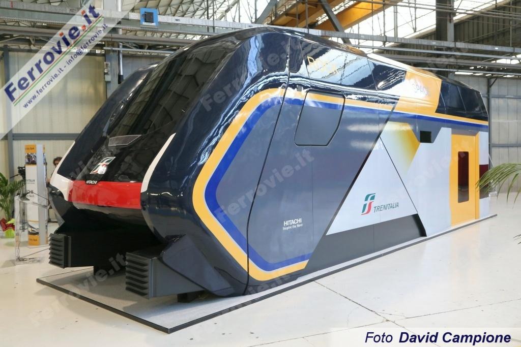 Hitachi Rail inizia la produzione dei treni Rock