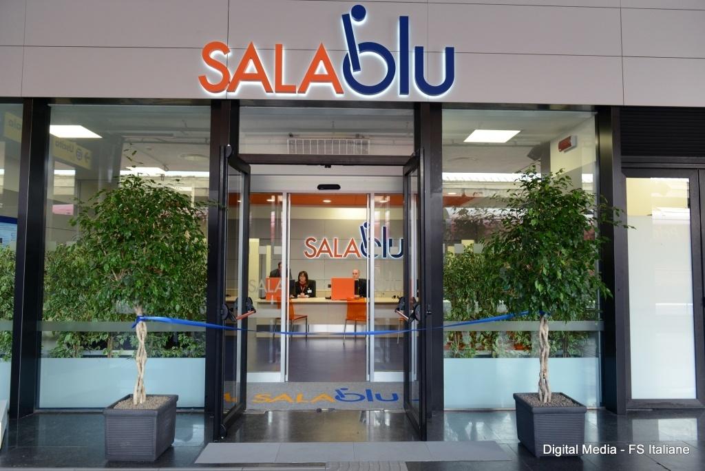 Sale Blu Ferrovie : Ferrovie roma termini nuova sala blu per assistenza
