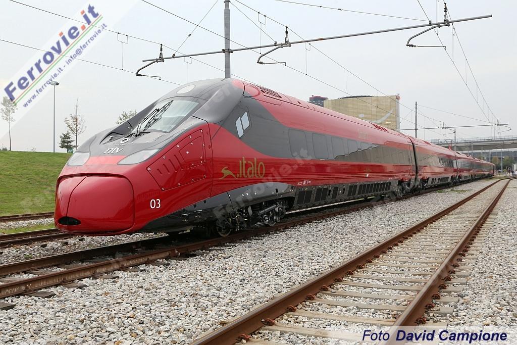Volano i ricavi di Ntv, altri cinque treni Italo Evo in arrivo