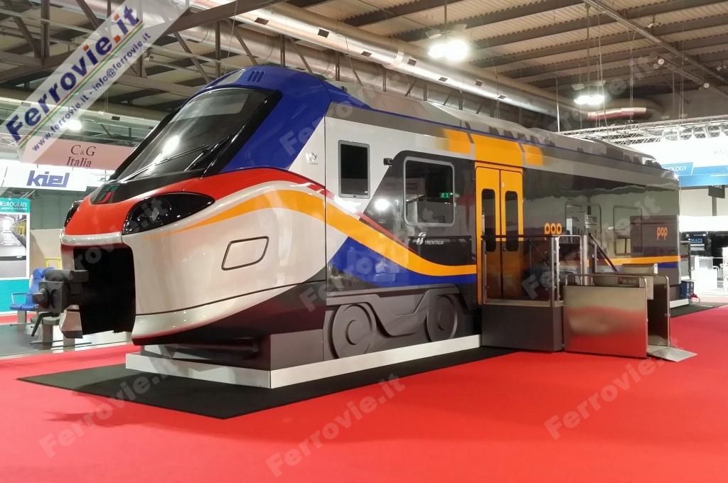 Regione-Trenitalia, 15 nuovi treni 'Pop'