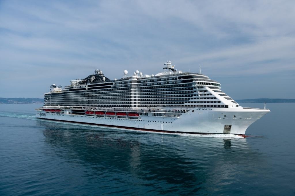 Genova, tutto pronto per il varo della nave Msc Seaview