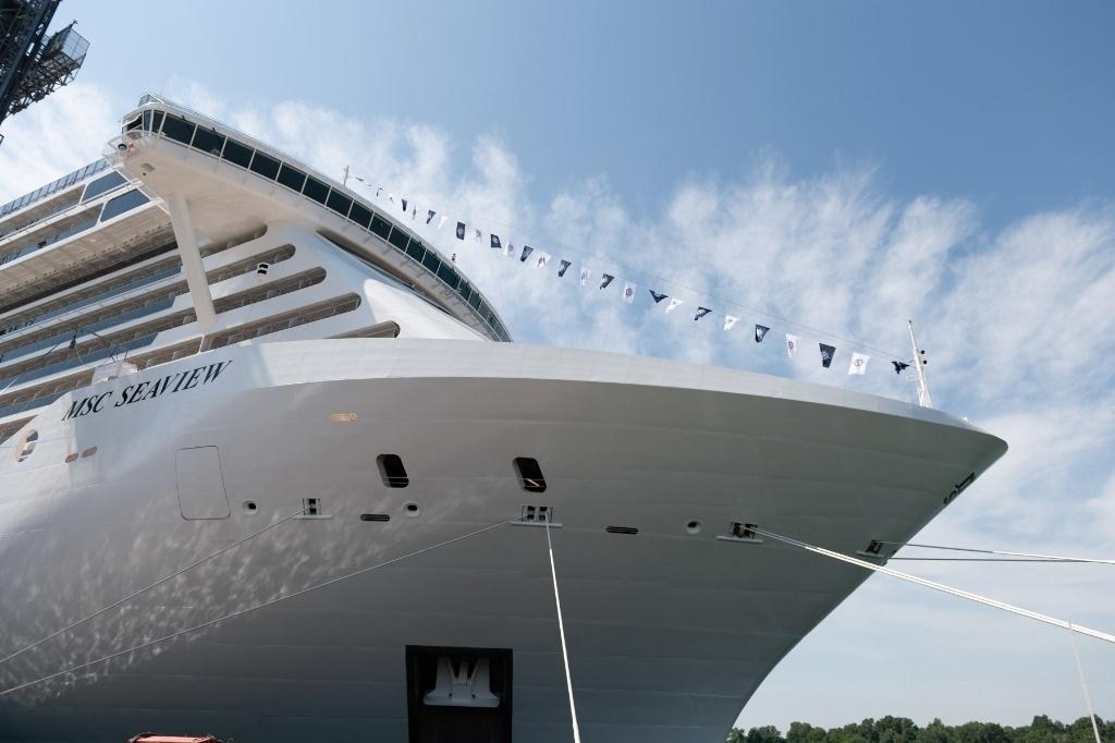 Fincantieri, consegnata a Msc la nave più grande costruita in italia