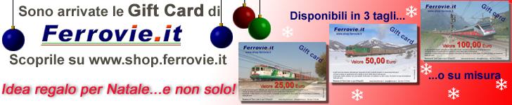 Gift Card di Ferrovie.it